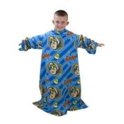 Kids/Childrens Fireman Sam Sleeved Fleece Snuggle Blanket (90cmx120cm)