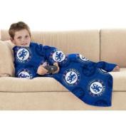 Chelsea FC Football Club Crest Snuggle Fleece Throw