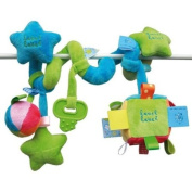 Vital Innovations Label-Label LL-ST1162 Spiral Toy Blue / Green