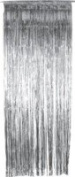 Silver Shimmer Curtain - Pack of 5 - Party Decorations