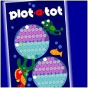 Plot a tot Underwater Design - My first calendar - Growth Chart - Record your baby's first year