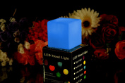 Colour Changing LED Cube Shaped Mood Light Lamp