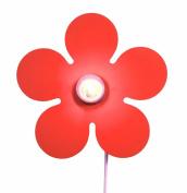 Niermann Standby Flower Power Wall Lamp, Orange