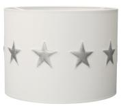Taftan Silver Stars Pendant Lampshade Diameter 35cm