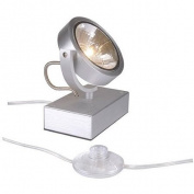 SLV 147286 Kalu Floor 1 Light Brushed Aluminium