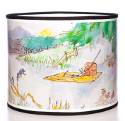 Quentin Blake Pendant Lampshade featuring the Barnaby illustration from the 'Sixes and Sevens' book by John Yeoman.