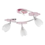 ALFA MARIA Pink 3 S Child Children Ceiling Lights Chandeliers