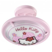 Dalber 30257 Ceiling Light Round Glass / Metal with Hello Kitty Motif