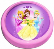 Magic Light 10 cm Battery Operated Push Light, Disney Princess
