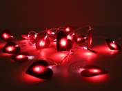 Felt Heart Fairy Lights - Battery Operated - Nursery Light - Party Light