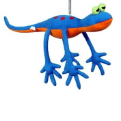 Springy Gecko Animal Brightly Coloured Mobile