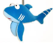 Springy Blue Shark Animal Brightly Coloured Mobile