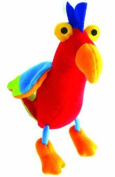 Springy Parrot Animal Brightly Coloured Mobile
