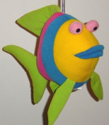 Springy Baby Angelfish Animal Brightly Coloured Mobile