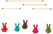 Trousselier V1192 Decorative Mobile Rabbit Angel Theme