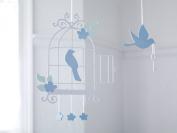 Bambizi Ltd Aegle Bird Cage Laser Cut Baby Mobile