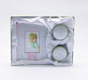 Christening Gift My First Curl / Tooth & Frame 5.1cm x 7.6cm It's A Girl