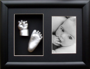 Anika-Baby BabyRice 3D Casting Kit with Black Photo and Display Frame