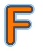 Bebemon Capital Letter F
