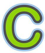 Bebemon Capital Letter C