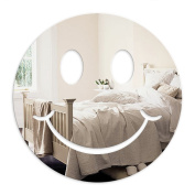 Mungai Mirrors 10.5cm Smiley Face Acrylic Mirror