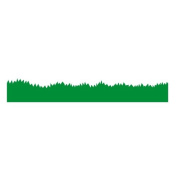 Grass border wall sticker (1m) by Stickerscape - Jungle themed wall sticker border perfect for creating a grass border in a nursery or kids room