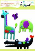 BabyToLove 360085 Wall Stickers Fabric Jungle Pop