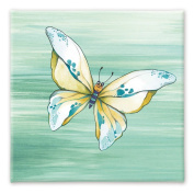 Wandpiraten 25 X 25 X 2cm Print On Canvas Butterfly Beeny