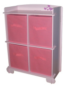 Kidsaw Amour 4 Drawer Storage