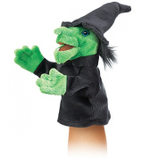 Hand Puppet - Folkmanis - Little Witch New Animals Soft Doll Plush Toys 2984