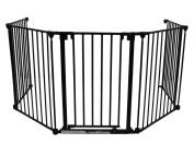 BABY VIVO Comfortable Barrier Metal - Fire guard / heater guard