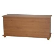 Pine Ottoman Storage Chest, Toy Chest or Bedding Box Cambridge