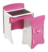 Kidsaw Blush Desk and Chair for 18 Months