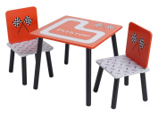 Kidsaw Racing Car Table and 2 Chairs