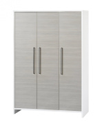 Schardt Wardrobe Eco Silver with 3 Doors
