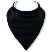 Baby Bandana Bib in BLACK by Babble Bib