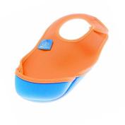 Bibetta Baby Bib Neoprene Ultrabib - Small - Tangerine Orange