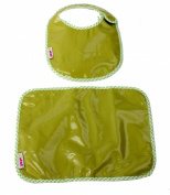 Minene Bib and Mat Set (Green)