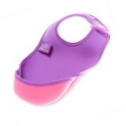 Bibetta Baby Bib Neoprene Ultrabib - Small - Purple