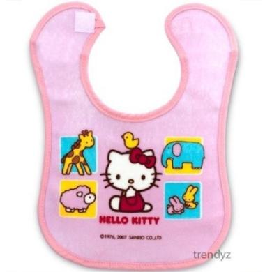 Hello Kitty Sanrio Baby Girl Large Feeding Bib