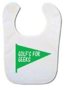 Golfer Baby bib
