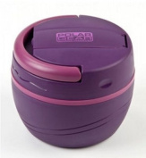 Polar Gear Baby Lunch Pod (500ml Berry) Hot or Cold Insulated Bowl with Fork