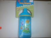 Little Monster Blue Plastic Super Sipper Cup - 414ML 14oz - 12 Months +