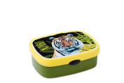 Rosti Mepal Animal Planet 107670065315 Lunch Box Medium-Sized with Tiger Theme