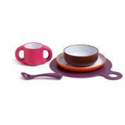 Suavinex 3158373 'Learn to Eat' Dining Set for Girls