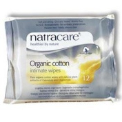 Natracare Org Cotton Intimate Wipes 12'S