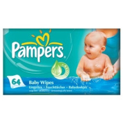 Pampers Baby Fresh Wipes 1 X 64 Wipes