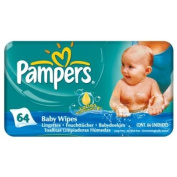 Pampers Baby Fresh Wipes 12 x 1X 64 Wipes