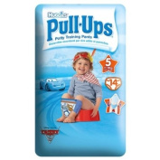 Huggies® Pull-Ups® Boy Size 5 11-18kg, 24-40lbs 14 Potty Training Pants - 6 x 14s