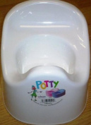 White Plastic Toddler Baby Potty - Ideal For Potty Training